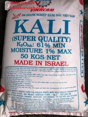 KCL: Khoáng Kali bổ sung ao nuôi tôm