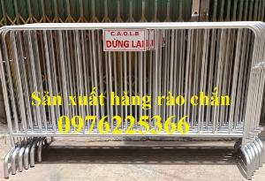 Hàng rào di động mạ kẽm, hàng rào an ninh, hàng rào bảo vệ