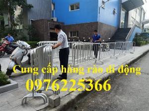 Nhận gia công khung hàng rào di động, hàng rào chắn đám đông