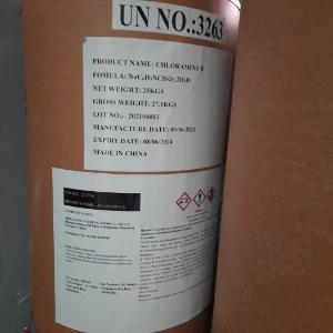 Chất khử trùng diệt khuẩn Chloramin B - China 25kg/thùng