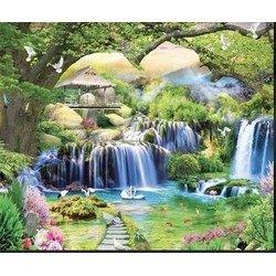 Gạch tranh phong cảnh - Bắc Ninh