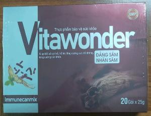 Thực phẩm chức năng tăng cân Vitawonder