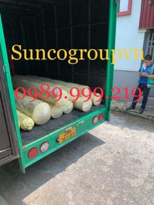 Bạt nhựa hdpe 0.8mm khổ 4x50m cuộn 200m2 lót hầm chứa biogas