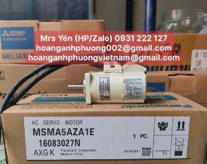MSMA5AZA1E | Ac Servo Motor| Panasonic| Cty Hoàng Anh Phương phân phối trực tiếp