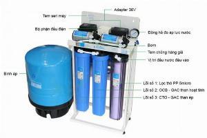 Máy loc nước bán công nghiêp KAROFI 50L/H KB50