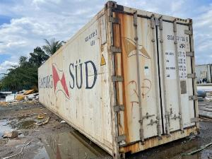 Container lạnh bảo quản sầu riêng đông lạnh