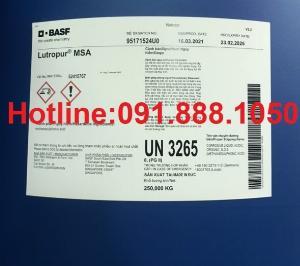 Bán MSA- Methane Sulfonic Acid, Lutropur MSA, MethaneSulfonic Acid