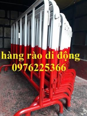 Hàng rào di động mạ kẽm giá tốt tại Hà Nội