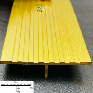 Nẹp chữ T đồng - Nẹp T60 đồng - Nẹp đồng trang trí - Nẹp đồng giá rẻ tại tp.HCM