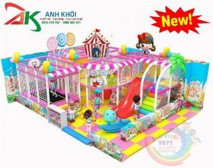 Khu vui chơi trong nhà dành cho trẻ em giá rẻ