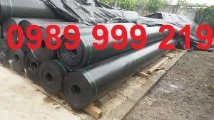 Bạt đen hdpe 2 mặt 0.3mm khổ 3mx50m cuộn 150m2 lót bê bờ