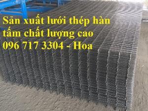 Sản xuất lưới thép hàn D4,D5, D6, D7, D8,D9,D10, D11, D12