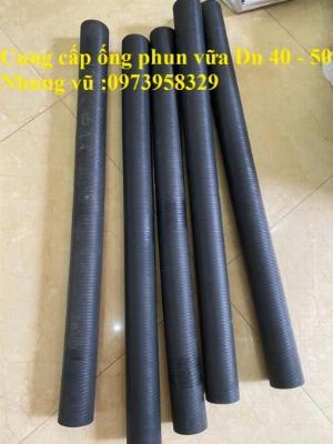 Tổng đại lý phân phối ống phun vữa cao su bố vải phi 40 , phi 50 , cam kết giá rẻ nhất thị trường