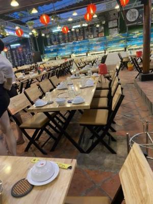 Bàn ghế cafe nhà hàng quán nhậu giá sỉ tại xưởng sản xuất anh khoa 5788