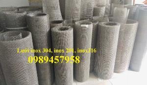 Lưới đan inox316, Lưới inox304, Inox201, Lưới chống muỗi, Lưới chống côn trùng