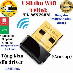 Bộ thu wifi máy tính bàn - usb thu wifi nano cao cấp tplink/ totolink/ lblink