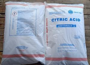 Acid Citric Anhydrous (C6H8O7) - Trung Quốc