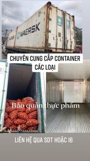 Container lạnh chứa nông sản thực phẩm