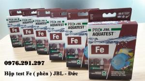 Hộp sắt (phèn, Fe) - Hộp Test phèn JBL Đức