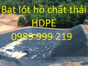 Bạt chống thấm hdpe 0.3mm khổ 6x20m cuộn 120m2 lót trại ếch