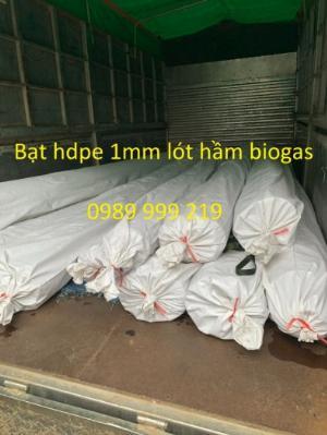 Nylon đen hdpe chống thấm 3zem khổ 6mx20m-120m2 lót bãi rác chôn lấp