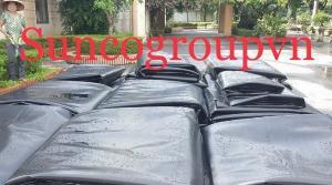 Bạt nylon hdpe đen 3zem khổ 6mx20m cuộn 120m2 lót công xưởng