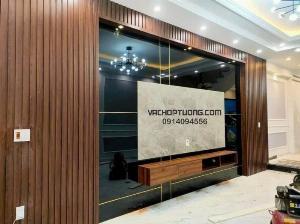 Vách ốp tường gỗ nhựa tại Hà Nội