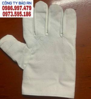 Găng tay vải bạt