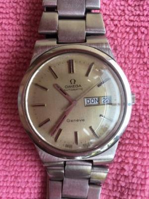 Đồng hồ cổ : OMEGA  AUTOMATIC Geneve (OMEGA Thuỵ Sĩ)