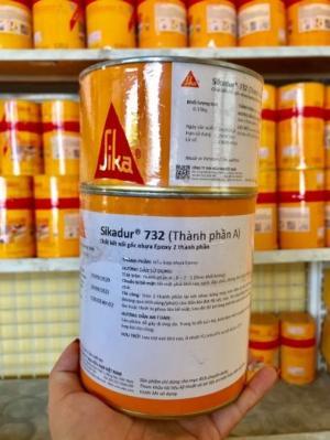 Chất kết nối gốc nhựa Epoxy- Sikadur 732 (Bộ 1kg)