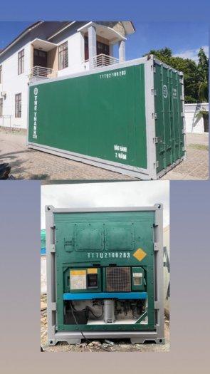 Bảo quản thực phẩm dùng container
