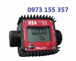 Đồng hồ đo dầu K24 Plastic,đồng hồ xăng dầu k24,đồng hồ đo nước,đồng hồ nước mini
