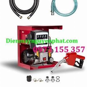 Bộ bơm dầu ETM-60,Bộ bơm dầu mini kèm đồng hồ ETM60,kít bơm dầu diesel 220V etm60