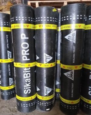 Màng khò nóng chống thấm sàn mái - SIKA THẾ VŨ - SikaBit PRO P-30-0 Sand (Cuộn 10m)