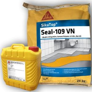 Vữa chống thấm bể bơi, cống thoát nước - SIKA THẾ VŨ - SikaTop Seal 109 (bộ 15kg)