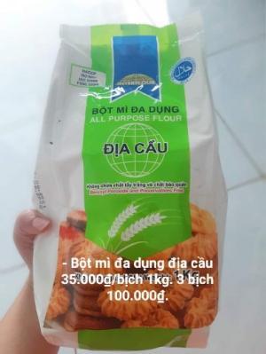 Bột mì đa dụng địa cầu bịch 1kg