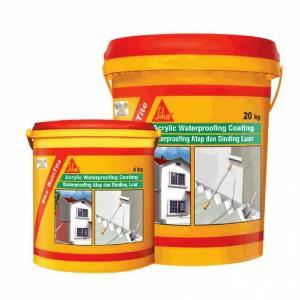 Sơn Chống Thấm Tường Nhà Gốc Acrylic SIKA THẾ VŨ - Sika RainTite (Thùng 20kg)