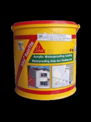 Sơn Chống Thấm Tường Nhà Gốc Acrylic SIKA THẾ VŨ - Sika RainTite (Thùng 4kg)