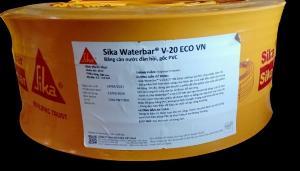 Băng Cản Nước Đàn Hồi, Gốc Pvc - Sika Thế Vũ - Sika Waterbar V-20 Eco Vn (cuộn 20m)