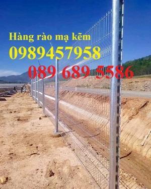 Hàng rào mạ kẽm phi 5 50x200, Hàng rào sơn tĩnh điện D5 50x150, Hàng rào nhúng nóng