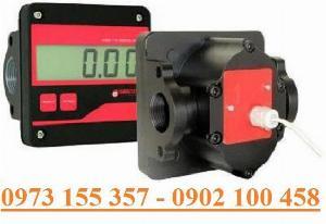 Đồng hồ đo dầu Gespasa MGE-110,đồng hồ đo 100 lít/phút