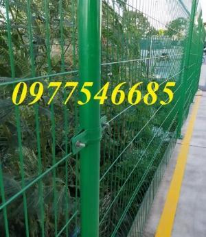 Lưới hàng rào phi 5A50x200 mạ kẽm sơn tĩnh điện