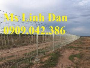 Nhận sản xuất hàng rào lưới thép ,hàng rào lưới thép mạ kẽm
