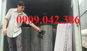 Chuyên sản xuất lưới hàn chập mạ kẽm phi 2, phi3, phi4, phi 5, phi 6