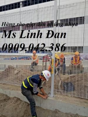 2021-09-26 09:36:11  9  Hàng rào lưới thép, hàng rào mạ kẽm, hàng rào bảo vệ khu công nghiệp 35,000