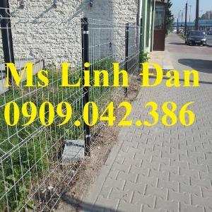 2021-09-26 09:36:11  1  Hàng rào lưới thép, hàng rào mạ kẽm, hàng rào bảo vệ khu công nghiệp 35,000