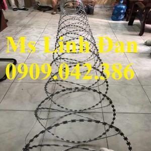 2021-09-26 09:56:58  5  Nhà máy sản xuất dây thép gai hình dao, thông số kỹ thuật dây thép gai lưỡi dao, 280,000