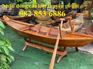 2021-09-26 12:07:16  11  Mẫu thuyền gỗ đẹp trang trí nhà hàng, Thuyền gỗ trưng bày quán hải sản, Thuyền gỗ trang trí 3m 6,500,000