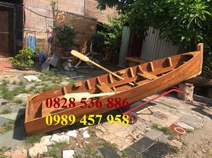 2021-09-26 12:07:16  3  Mẫu thuyền gỗ đẹp trang trí nhà hàng, Thuyền gỗ trưng bày quán hải sản, Thuyền gỗ trang trí 3m 6,500,000