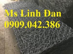 Báo giá rọ đá 2x1x0.5m mạ kẽm và bọc nhựa PVC, Rọ đá 2x1x0.5m